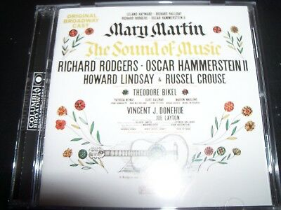 The Sound Of Music Original Cast Soundtrack (Mary Martin) CD – (New Not Sealed)