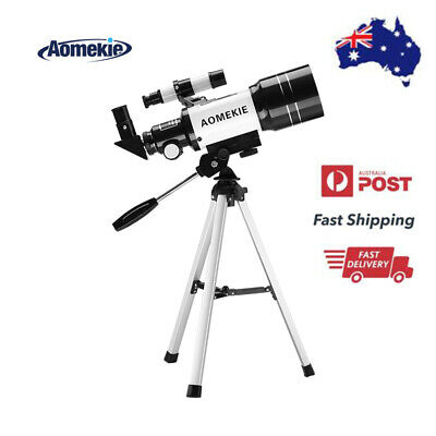 300x70mm Refractor Telescope With Tripod For Beginners & kids View Moon & Planet