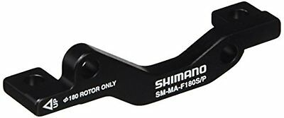 SHIMANO SM-MA F 180 S P disc brake mount adapter ISMMAF180SPA F/S w/Tracking#