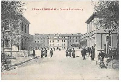 Cpa 11 Narbonne Caserne Montmorency