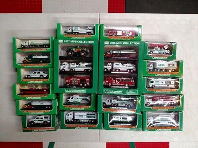 Complete Hess Miniatures Collection 1998-2018 (all 23)