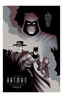 Batman The Animated Series Poster 11x17in/28x43cm Cartoon DC Comics Kevin Conroy