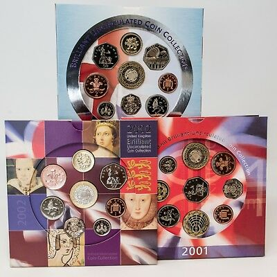 1983 - 2010 Uk Brilliant Uncirculated Coin Collection - Birthday Gifts - Collect