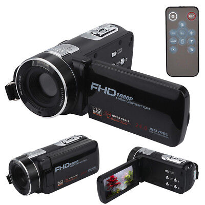 "FULL HD 1080P 24MP 3""LCD 18X ZOOM Night Vision Digital Video DV Camera Camcorder"