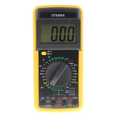 ANENG DT9208A Portable Digital Multimeter AC / DC Spannung Strom Widerstand F7G7