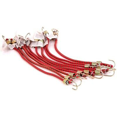 "8 x 10"" MINI SMALL BUNGEE CORDS Short Bike Car Straps"