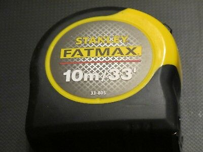 Stanley Fatmax Blade Armour Tape Measure 10M