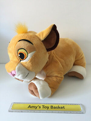 Lion King Guard Simba GIANT Extra Large Soft Plush Toy Disney Store Exclusive