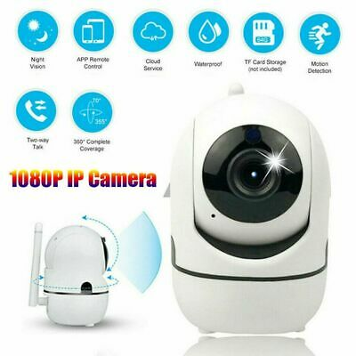 Wifi Camera Wireless CCTV Indoor IP Surveillance System 360° Panoramic HD 1080P
