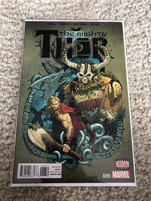 THE MIGHTY THOR #6a (Marvel) 1st Print Foster & Aaron-NM Cond!