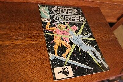 Silver Surfer SEPT 3 VINTAGE Marvel Comic Book September 1987