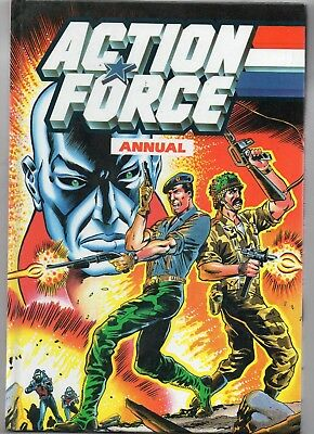 Action Force Annual / Fine / Marvel 1987 / Unclipped.