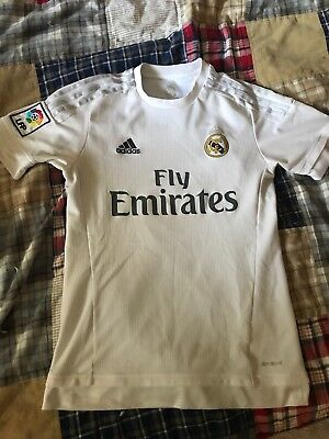 competitive price 2531b fcfec ADIDAS AUTHENTIC CRISTIANO Ronaldo Real Madrid Jersey Soccer Football