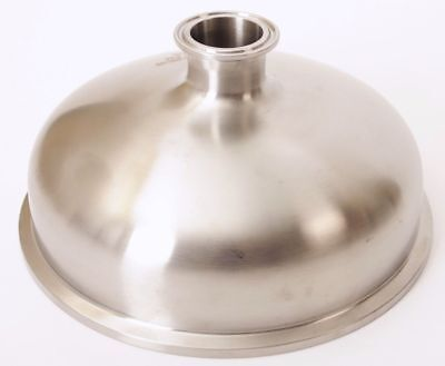 Bowl Reducer | Tri Clamp 8 in. x 1.5 in. - SS304