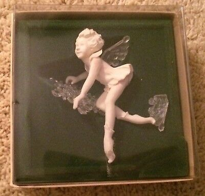 Hallmark Ice Fairy Snowflake Ornament 1981 Vintage Broken Wing Damaged SDB HTF