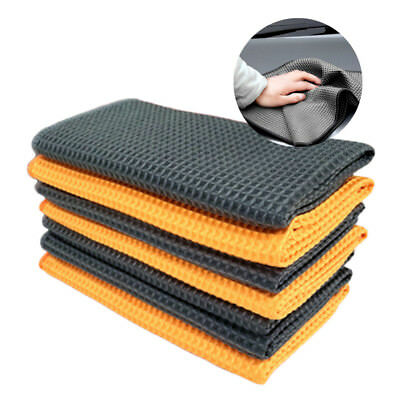 Durable Microfiber Towel Soft Car Cleaning Wash Clean Wax Polishing Cloth Tool