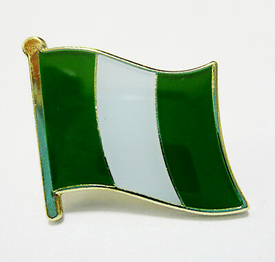 Nigeria National Flag Metal Lapel Pin Flag Pin