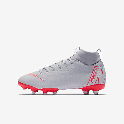 06d19bf8f YOUTH NIKE KIDS Superfly 6 Academy FG MG Cleats (Wolf Grey Crimson ...