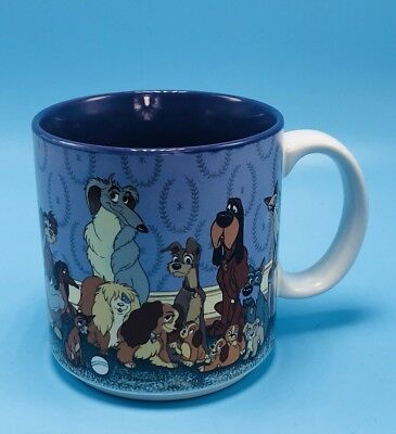 Walt Disney LADY AND THE TRAMP Dog Ceramic Coffee Mug Cup
