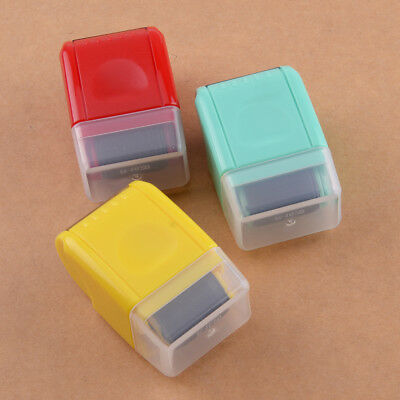 Mini Guard Your ID Messy Code Security SelfInking Roller Stamp Stationery Tool