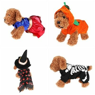 Halloween Party Pet-Dog Cat Clothes Funny Puppy Pet Costume Cosplay Coat Apparel