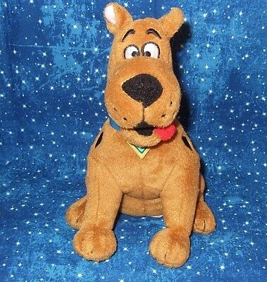 "TY Beanie Babies Scooby-Doo Dog 2012 Plush 6.5"" Tall Rusty Brown/Black Spots"