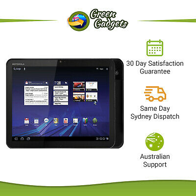 "Motorola XOOM 10.1"" MZ601 16GB 32GB 64GB Tablet Slightly Imperfect No charger"