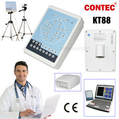 Digital Brain Electric Portable EEG Machine And Mapping System 16-channel EEG CE