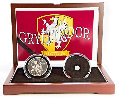 Gryffindor: Harry Potter Two Coin Boxed Set With Story,Certificate