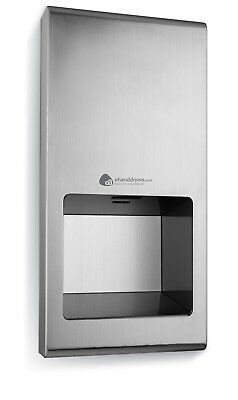 Airjet Recessed Hand Dryer - 5 Year warranty, 7-12 second drying time
