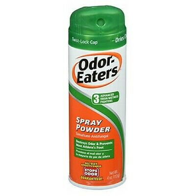 Odor-Eaters Foot And Sneaker Spray Powder 4 oz