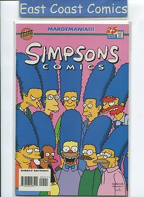 Simpsons Comics #25 - Nm - Bongo Us