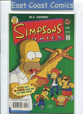 Simpsons Comics #59 - Nm - Bongo Us