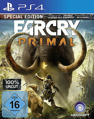 Far Cry Primal (100% Uncut) Special Edition PlayStation 4 PS4 Game Spiel Neu OVP