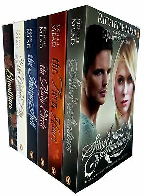 Richelle Mead Collection Bloodlines Series 6 Books Collection Set Silver Shadows