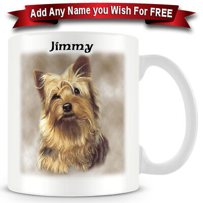 Yorkshire Terrier- Dog Ceramic Coffee Mug - Personalise for free