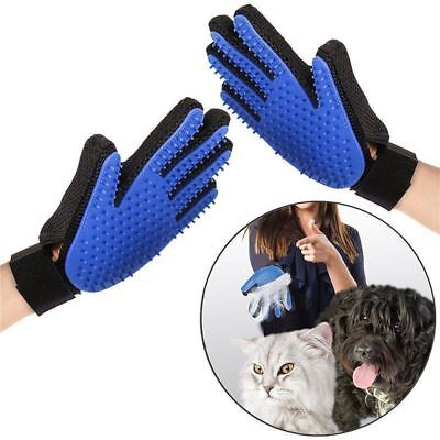 Pet Deshedding Cleaning Brush Magic Glove Massage Hair Removal Grooming Groomer