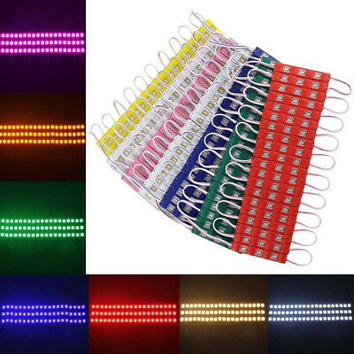 20-200Pcs SMD 5630 LED Module Strip Light Band Lamp DC 12V Waterproof Backlight