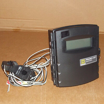 NEW Square D EME3010 Power Logic Energy Meter Extended, 100A, Size 0, 3CTs