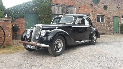 Riley 1.5 Rme 1953 Classic Vintage Cherished Plate **142 Are** - **reduced**