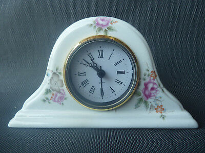 Beautiful clock antique, old pendulum fireplace, antique french clock