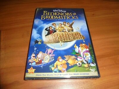 Bedknobs and Broomsticks (DVD, 2009, Enchanted Musical Edition) Disney NEW