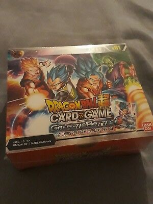 Dragon-Ball Super Card Game: Galactic Battle Sealed Booster Box: 24 Packs -B01 Z