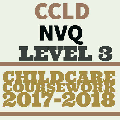 nvq level 3 childcare coursework