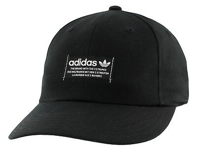 54e04859ac4 New Men s Adidas Originals Nmd Trefoil Strapback Cap Hat  ci7688 Black