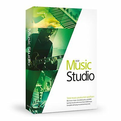 Sony Vegas ACID Music Studio 10 1 PC Users Lifetime License Music Editing