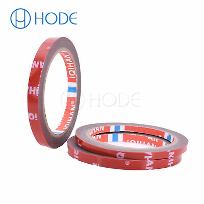 3M Strong Permanent Double-Sided Adhesive Glue Tape Super Sticky Red Liner UK