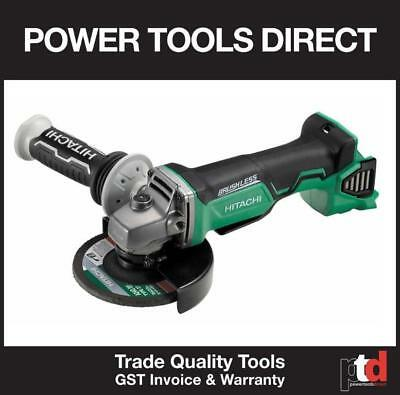 New Hitachi Angle Grinder 18V Brushless Cordless G18Dbal 125Mm Bare Tool Only