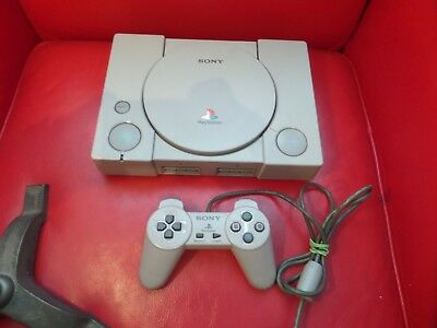 Sony PlayStation PS1  PSone Gray Console SCPH-9000 Working NTSC-J Japan System