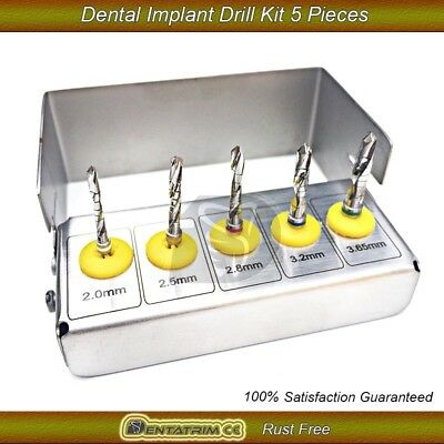 Dental Implant Drills Kit Grafting Tissue 5 PCS New